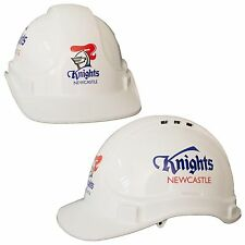 Newcastle Knights NRL Light Weight Vented Safety Hard Hat Work Man Cave Gift