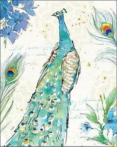 ANNE-tavoletti-Peacock-Garden-I-camilla-imagen-de-Pantalla-Pavo-verde-pajaros
