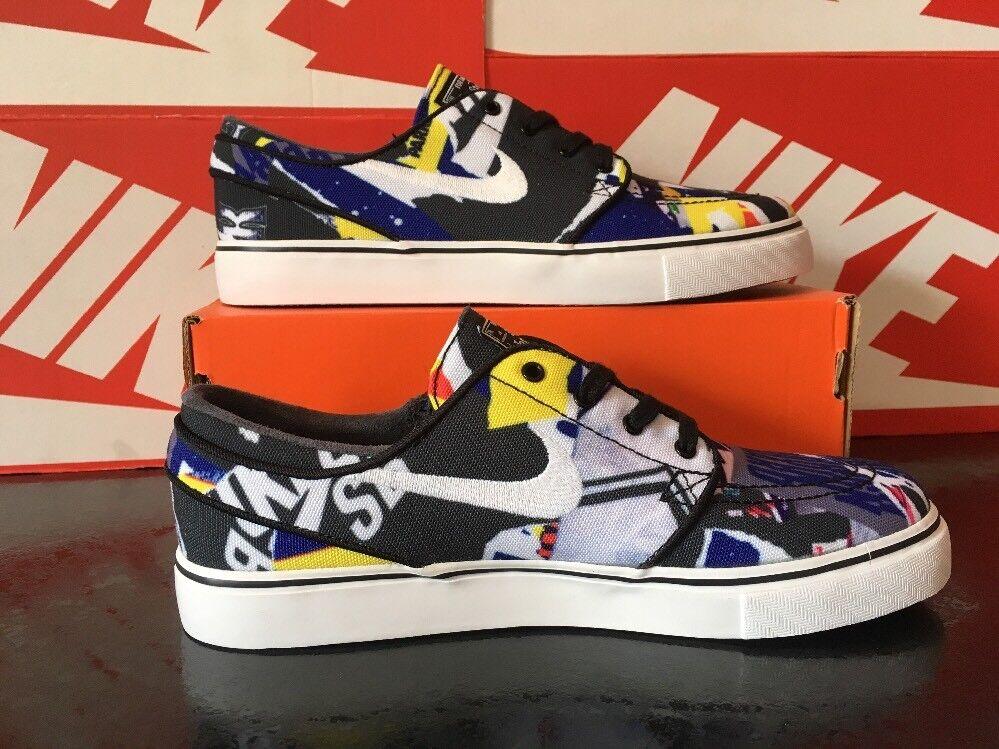 V44 Nike Zoom Stefan Janoski 2018 SB Canvas5 EUR 38 US 5.5 705190-001