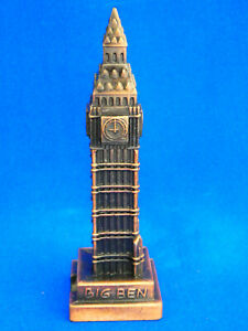 Big-Ben-Pencil-Sharpener-Bronze-Color-Metal-Souvenir