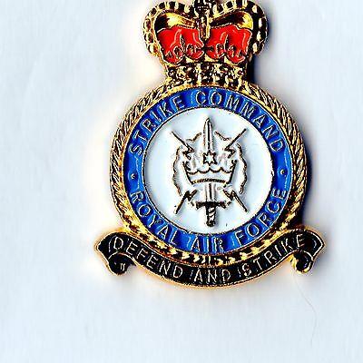 RAF Strike Command Lapel Royal Air Force Military Badge