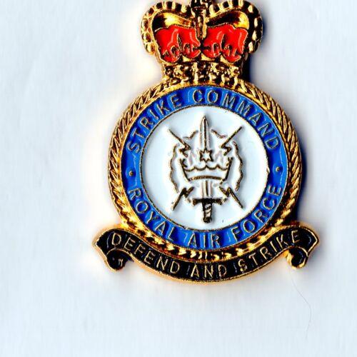 Lapel Badge RAF Strike Command