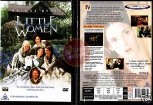 LITTLE-WOMEN-Winona-Ryder-Christian-Bale-NEW-SEALED-DVD-Region-4-Australia