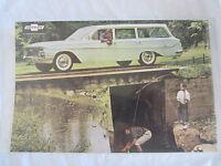 Sales Brochure 1961 Chevrolet Cars All Models Color