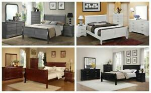 BRAND NEW IN BOX 8 PCS COMPLETE BEDROOM AT WHOLESALE PRICE(FINANCING AVAILABLE AT 0%) OPTION TO PAY ON DELIVERY) Hamilton Ontario Preview
