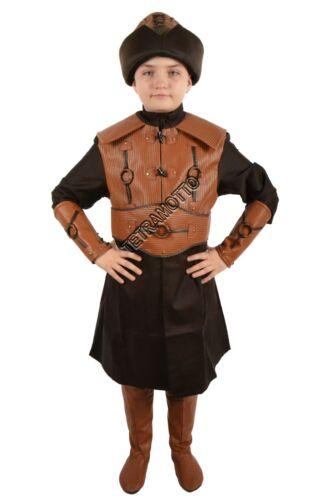 Resurrection Ertugrul brown Costume for kids dirilis ottoman kurulus MEC544