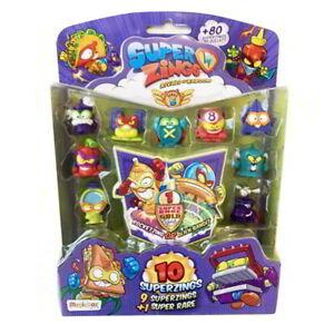 Blister-pack-10-SuperZings-serie-5-1-figura-dorada-Super-Rare-envio-24-48h