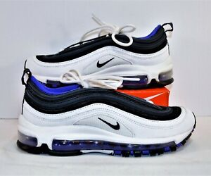 Details about Nike Air Max 97 White Black Persian Violet Running Shoes Sz 4Y NEW 921522 102