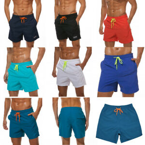 1c1d846691 JINSHI Men's Beach Shorts Swim Trunks Mesh Lining Quick Dry Elastic ...