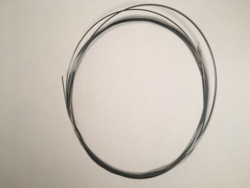"""Schaff Piano Wire 10 Ft Size 14 .033/"""" 0.838mm Replace broken strings car art"""