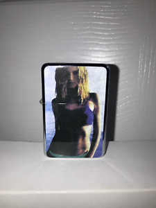 Pretty Woman Vest Black Gift Box Petrol Lighter Star Oil