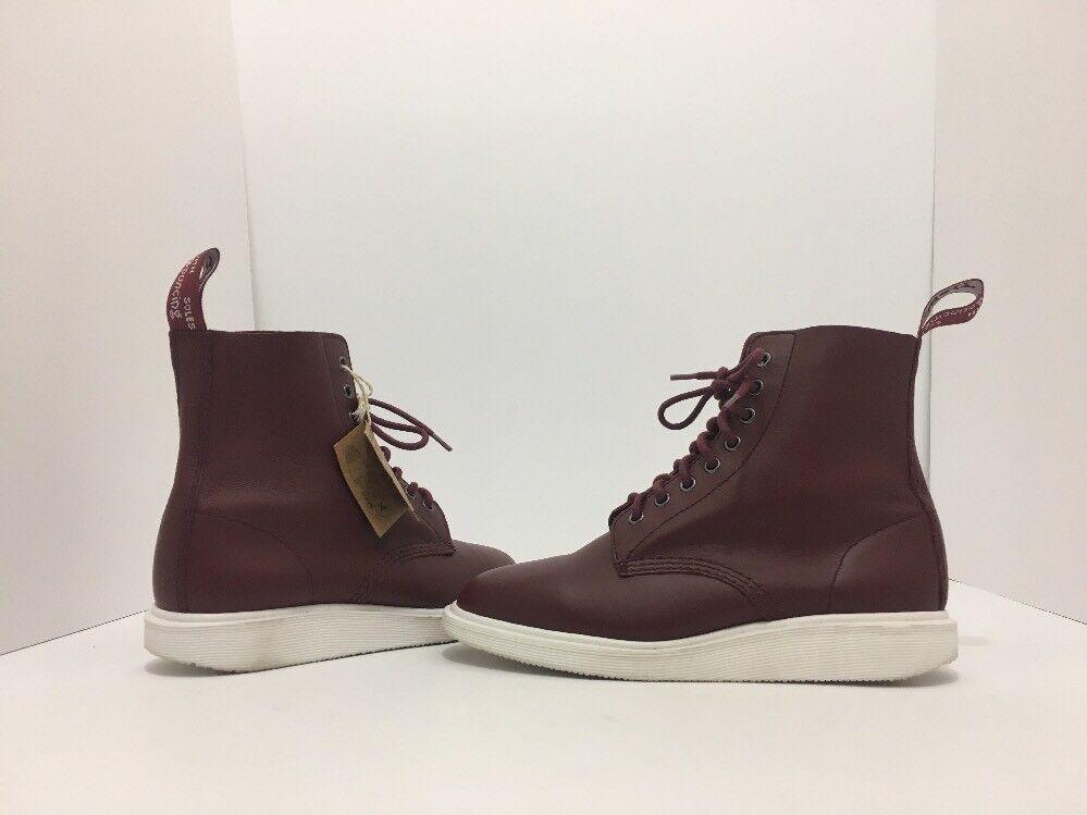 Dr Martens Whiton Unisex Lace Up Ankle Größe Stiefel Cherry ROT Leder Größe Ankle 8 M 81be43
