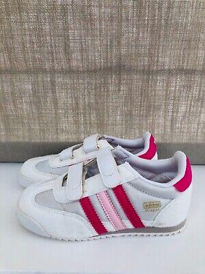 pink adidas dragon trainers