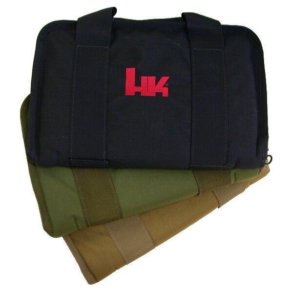 Heckler & Koch HK diámetro exterior verde acolchado estuche de alfombra de pistola de Bolsa USP HK45 P30 P7 VP9 VP40 SP5K
