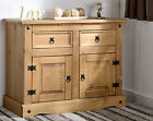 Seconique Corona Distressed Mexican Pine 2 Door 2 Drawer Sideboard