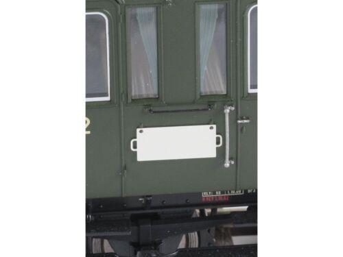 Lenz 49019 Zuglaufschilder weiß unbedruckt 10x Spur 0