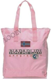 5b610a13e9f6 Beach Bag Shopping Napapijri Woman Bag Woman Crystal Pink N3R21North ...