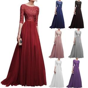 Women-Formal-Wedding-Bridesmaid-Long-Evening-Party-Prom-Ball-Gown-Cocktail-Dress