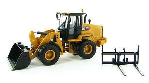 Norscot 1/50 Caterpillar Cat 930k Chargeuse Avec Godet Et Fourche 55266