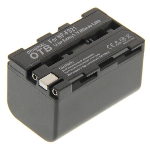 Power batería F Sony np-fs21 dcr-ip7e pc1 2 3 4 5 6 9 nuevo