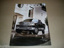 2007 Lincoln Mark LT pickup truck sales brochure dealer literature