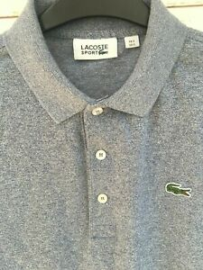 Lacoste-Mens-Sport-Blue-Polo-Shirt-Top-Size-3