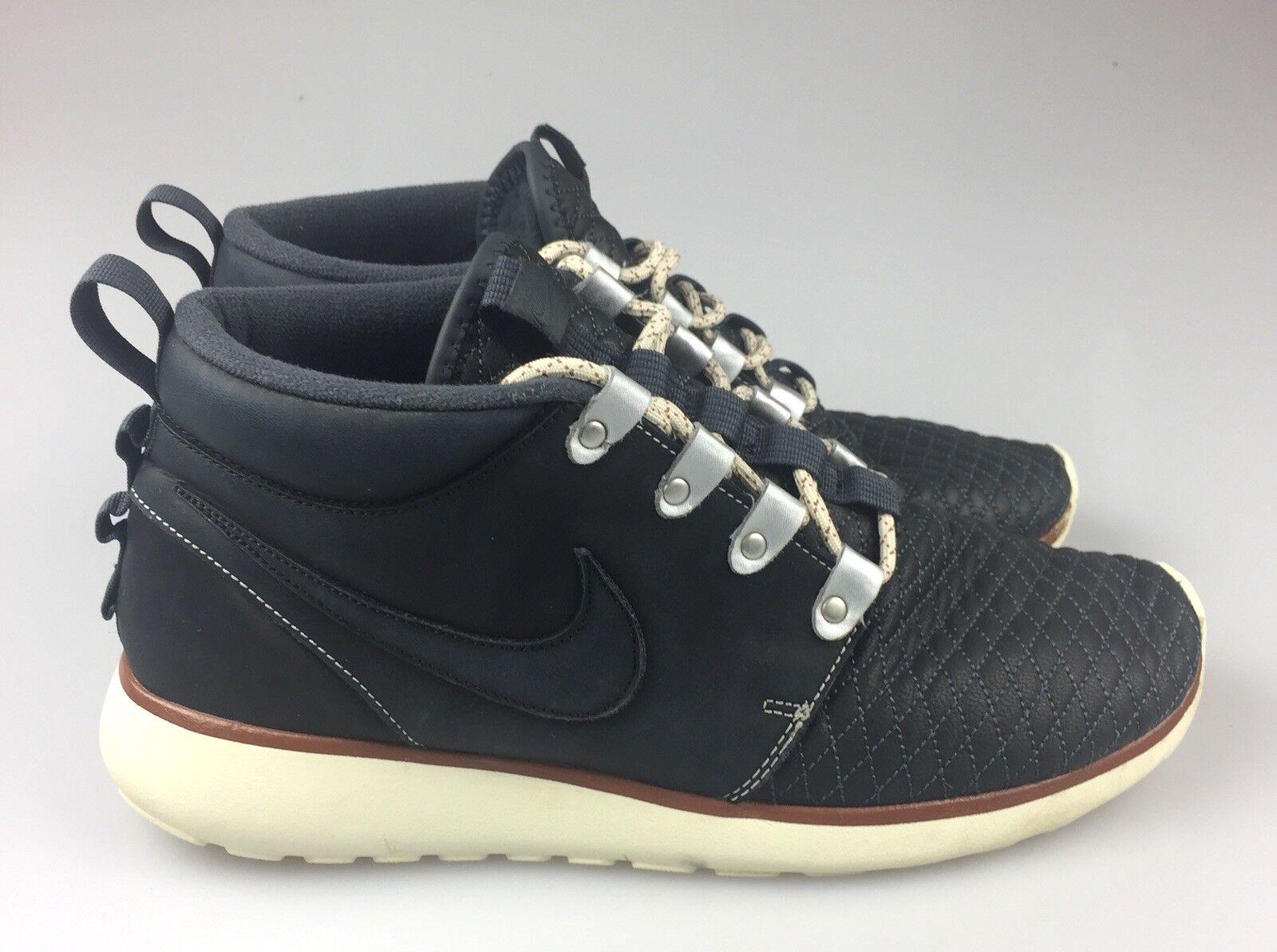 Nike roshe una scarpa - boot (639165-001) trapuntata - scarpa chukka uomini '11,5 813983