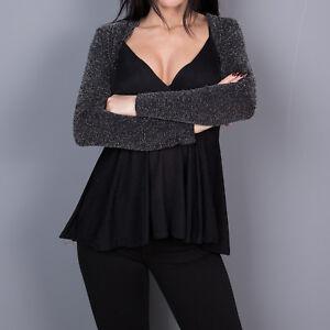 Coprispalle-glitter-giacca-donna-giacchetto-bolero-manica-lunga-nuovo-moda-7851