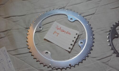 NEW CAMPAGNOLO Potenza PT 11 speed chainring 53t 39t four arm 4 hole 112 145 bcd