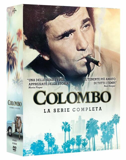 COLOMBO - SERIE COMPLETA  24 DVD  COFANETTO  POLIZIESCO