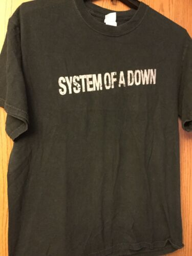 "System Of A Down -  ""Hypnotize""  Black Shirt.  L."
