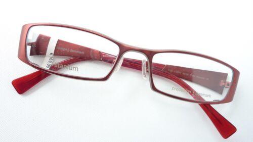 Fassung Rahmenlos Brille Schmal Titan Gestell Braun Nickelfrei Unisex Size M BüGeln Nicht Brillenfassungen Optiker