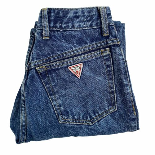 Guess Jeans Vintage Mom High Rise Crop Womens Size