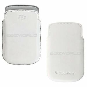 BLACKBERY-HDW-3884-LEATHER-POCKET-POUCH-FOR-BOLD-9900-9930-White