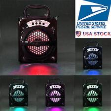 5in 1 Super Bass Outdoor Bluetooth Wireless Portable Speaker USB/TF/AUX/FM Radio