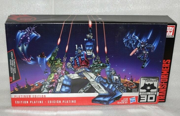New Transformers Plantinum Edition 30TH Ultra Magnus Arcee Spinger bluerr Kup Set