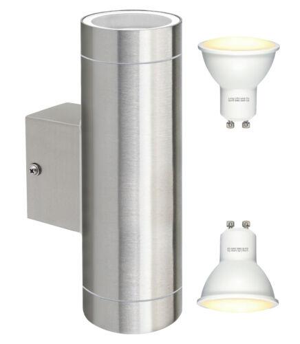 8 W LED Acier inoxydable double up down Extérieur mur intérieur de l/'énergie lumineuse IP65 enregistrer