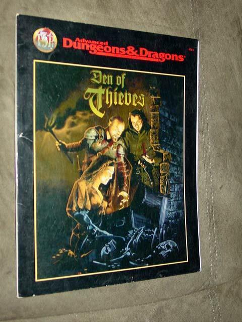 TSR - AD&D Advanced Dungeons & Dragons - Den of Thieves - Game Accessory  9515
