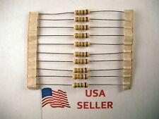 1/2W .5 Watt 5% Tolerance Carbon Film Resistor (10 Pieces) USA SELLER