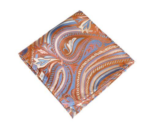 $75 New Lake Toya Copper Lilac Silk Lord R Colton Masterworks Pocket Square
