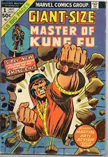 Giant-Size Master of Kung Fu #1 (Sep 1974, Marvel)