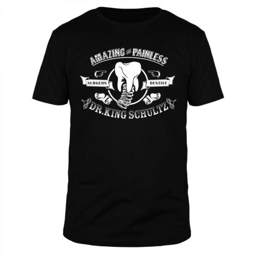 Dr King schultz Amazing unchained DiCaprio Jamie Foxx tarantino Django shirt