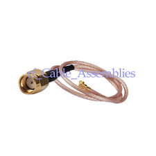 RP-SMA Plug male(jack pin) to IPX/u.fl pigtail cable RG178 25cm for WiFi Antenna