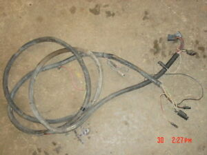 jeep rear wiring harness tail lights cherokee wagoneer 1977 j10 j20 rh ebay com Jeep Door Wiring Harness Jeep XJ Wiring Harness