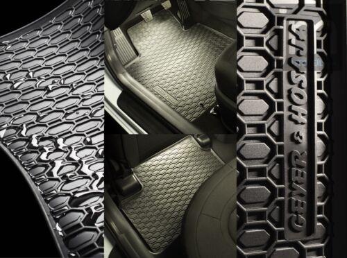 Esteras de goma 4 pzas Mitsubishi Outlander III citroen c-crosser peugeot 4007