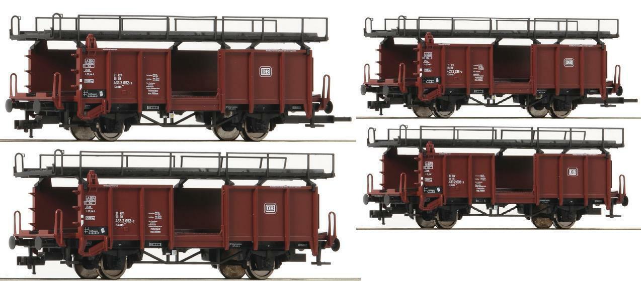 Fleischmann roco h0 2x plateada 522401 auto Cochero de transporte doppelset DB ep.4 nuevo ov