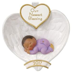 image is loading baby 039 s first christmas 2017 hallmark ornament