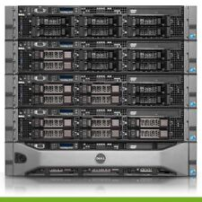 Dell PowerEdge R710 Server 2x 2.8GHz X5660 12 Cores 48GB RPS 6TB of Storage