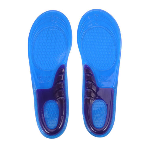 Orthotic Arch Support Massaging Silicone Anti-Slip Gel Sport Shoe Insole Pad KY
