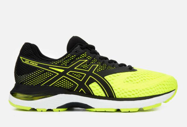 Asics Gel Pulse 10 Flash YellowBlack Men's Running Shoes Trainers